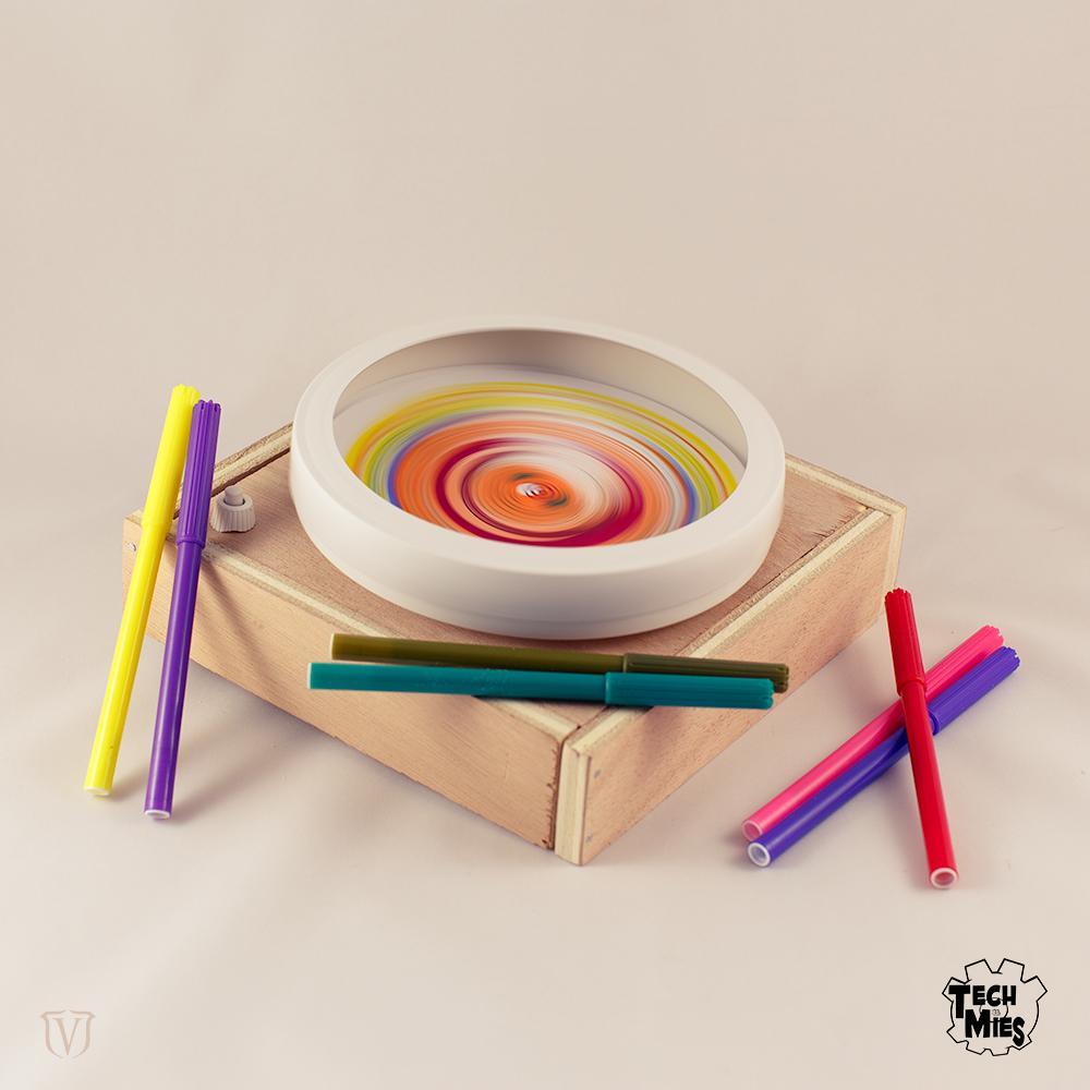 Kleurenmengmachine